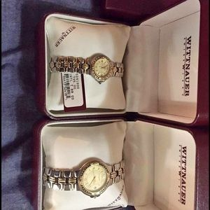 Other - Matching Wittnauer men's and ladies watch set.